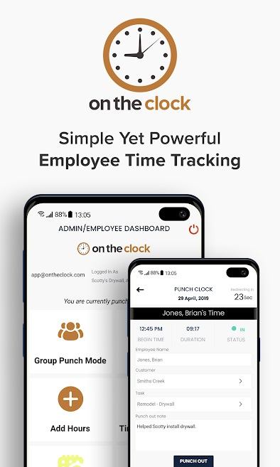 What is mobile time tracking